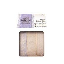 Papier - Samolepiaca látková páska French Lavender - 4716932_