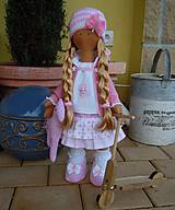 Bábiky - Ružová s koníkom - 4718004_