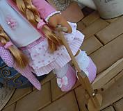 Bábiky - Ružová s koníkom - 4718005_