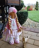 Bábiky - Ružová s koníkom - 4718007_