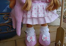 Bábiky - Ružová s koníkom - 4718008_