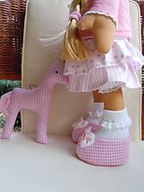 Bábiky - Ružová s koníkom - 4718009_