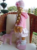 Bábiky - Ružová s koníkom - 4718011_