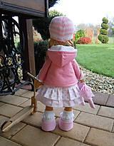 Bábiky - Ružová s koníkom - 4718013_