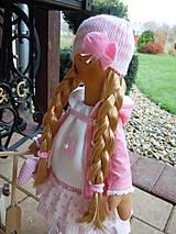 Bábiky - Ružová s koníkom - 4718014_