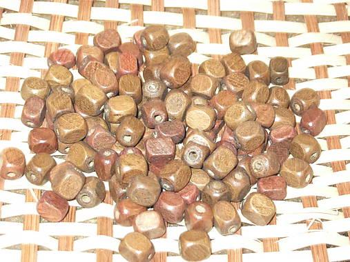 drevené korálky