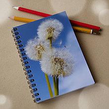 Papiernictvo - Zápisník malý - Kým ich vietor nerozfúka - 4719231_