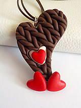 Sady šperkov - jahody v cokolade so slahackou-sada PRE TEBA.. - 4720384_
