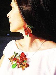 Sady šperkov - jungle flowers set - 4724863_