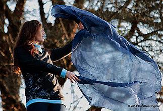 Tričká - Modré páperie - 4724034_