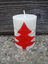 Svietidlá a sviečky - sviečka so stromčekom - 4723101_