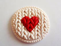 Odznaky/Brošne - srdce PRE TEBA.. - 4722937_