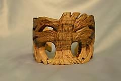 Náramky - Life Tree - Drevený náramok - 4726402_
