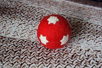 Dekorácie - vianočná guľa Hviezda - 4728690_