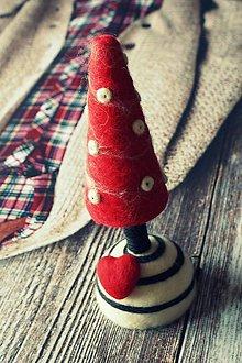 Dekorácie - vianočný Stromček - 4728727_
