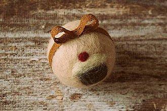 Dekorácie - vianočná guľa Retro muffin - 4728895_