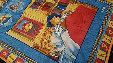 Úžitkový textil - ...kde bolo, tam bolo...-tyrkysová - 4734855_