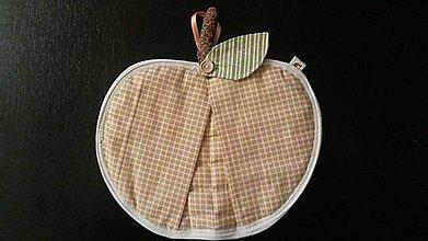 Úžitkový textil - jablková chňapka  - 4734986_