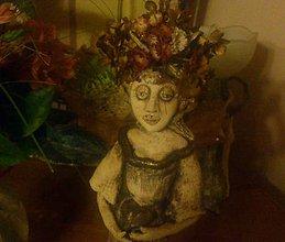 Svietidlá a sviečky - Svícen paní HORTENZIE - 4734048_