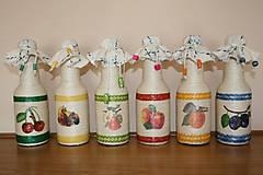 Fľaše s ovocím