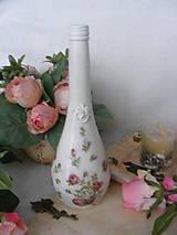 Ruže ... / fľaša