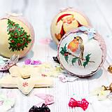 Kurzy - Decoupage – vianočné ozdoby - 4734577_