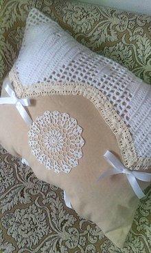 Úžitkový textil - dekoračný vankúš - 4735606_