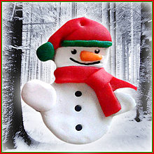 Dekorácie - Snehuliak - vianočná ozdoba - 4730366_