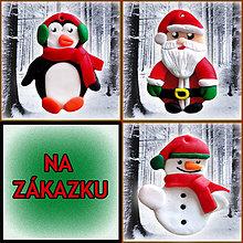 Dekorácie - Vianočné ozdoby chladné - 4733711_