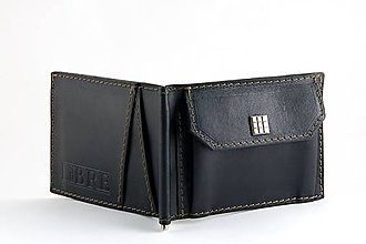 Tašky - Kožená peněženka Dolarovka č.2 - 4741731_
