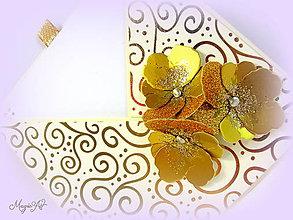 Papiernictvo - Zlaté pohladenie... - 4739999_