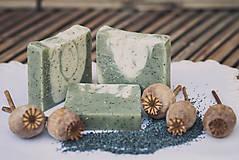 Drogéria - Makové mydlo s olejom zo santálového dreva (90gr) - 4736918_