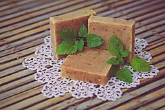 Drogéria - Mydlo s kozím mliekom, so žihľavou a s citrónovou trávou (90gr) - 4736920_