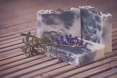Drogéria - Levanduľové mydlo s indigom ( 90gr ) - 4736921_
