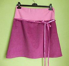 Tehotenské oblečenie - *Těhu sukýnka na přání II.* - 4745630_