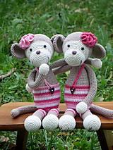 Hračky - ...opičky dvojičky (((-: DELLA +DELLA - 4744793_