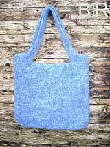Veľké tašky - vlntaška belasá - 4746400_