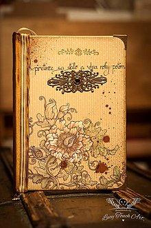 Papiernictvo - Arábia Diary / na zákazku :) - 4742759_