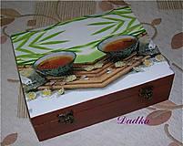 Do kuchyne - 12 priečinková krabica na čaj  - 4742187_