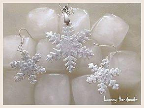 Sady šperkov - Snehová vločka - 4746225_