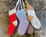 Detské doplnky - Ozdobné ponožtičky - 4752520_