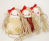 Dekorácie - Vianočné trio (zvýhodená cena) - 4750331_