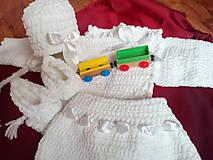 Detské súpravy - White and soft - 4750874_