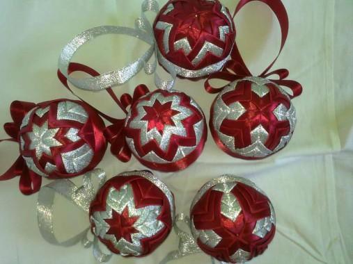 9e090f91d Vianočné patchworkové gule / zuziazany - SAShE.sk - Handmade Dekorácie