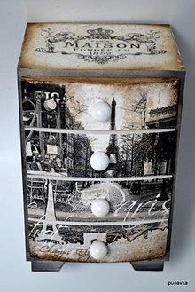 Krabičky - Milovaný Paríž - 4749914_