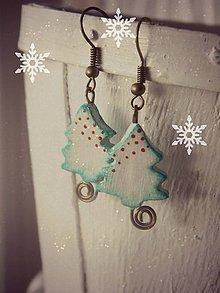 Náušnice - Milujem Vianoce - 4752571_