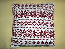 Úžitkový textil - Vankúše s nórskym vzorom. - 4758821_