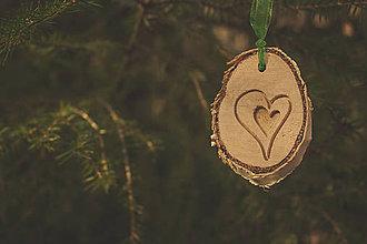 Dekorácie - Láska na stromčeku - 4754076_