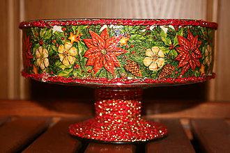 Svietidlá a sviečky - Vianočný svietnik - 4758609_