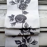 Úžitkový textil - Trochu romantiky na stôl - štóla - 4754747_